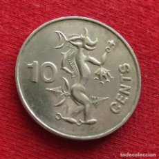 Monedas antiguas de Oceanía: SALOMON ISL. 10 CENTS 1988 SOLOMON. Lote 201997290