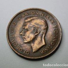 Monedas antiguas de Oceanía: 214,, MONEDA, DE AUSTRALIA 1 PENNY COBRE 1941 CONSERVACION MBC+. Lote 203943740