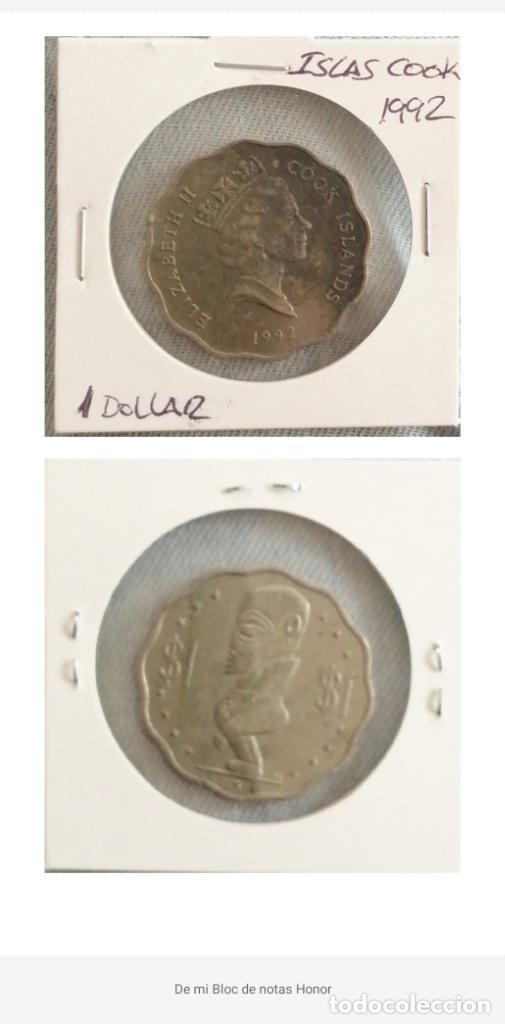 ISLA COOK. MONEDA 1 DOLLAR 1992. SE MANDA EL DE LA FOTO (Numismática - Extranjeras - Oceanía)