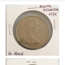 Monedas antiguas de Oceanía: NUEVA ZELANDA. MONEDA 50 PENCE 1975. SE MANDA LA DE LA FOTO. Lote 204491210