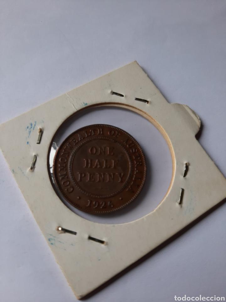Monedas antiguas de Oceanía: AUSTRAKIA NUEVA ZELANDA 1926 1/2 PENIQUE COMMON WEALH COBRE - Foto 2 - 205305068