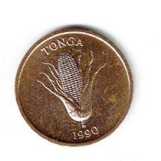 Monedas antiguas de Oceanía: TONGA 1 SENITI 1990 - 1 CENT 1 CENTIMO. Lote 206149863