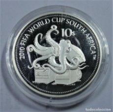 Monedas antiguas de Oceanía: NAURU 10 DOLARES 2010. Lote 206178313