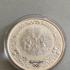 Monedas antiguas de Oceanía: AUSTRALIA. 5 DÓLARES, SIDNEY 2000. ONZA DE PLATA. Lote 206245038