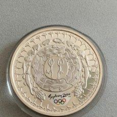 Monedas antiguas de Oceanía: AUSTRALIA . 5 DÓLARES, SIDNEY 2000. ONZA DE PLATA. Lote 206245198