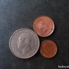 Monedas antiguas de Oceanía: CONJUNTO DE MONEDAS DE SAMOA Y SISIFO DIFICILES. Lote 209898860