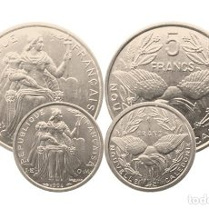 Monedas antiguas de Oceanía: NUEVA CALEDONIA 1 Y 5 FRANCOS-SC, (COLONIA FRANCESA). Lote 210443542