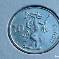 Monedas antiguas de Oceanía: ISLAS SALOMON 10 CENTAVOS/CENTS 2012 (SIN CIRCULAR). Lote 295911738