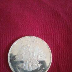 Monedas antiguas de Oceanía: 25 PENCE ST. HELENA 1977 PLATA. Lote 210777891