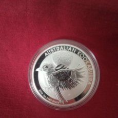 Monedas antiguas de Oceanía: 1 DOLLAR 2018 AUSTRALIA PLATA 999, 31 GR KOOKABURRA. Lote 210807361