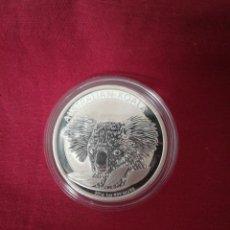Monedas antiguas de Oceanía: 1 DOLLARS AUSTRALIA 2014 KOALA PLATA 999 31 GR. Lote 210809316