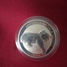 Monedas antiguas de Oceanía: 1 DOLLARS AUSTRALIA 2012 KOALA PLATA 999 31 GR. Lote 210809540