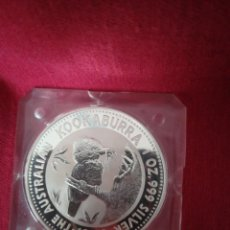 Monedas antiguas de Oceanía: 1 DOLLAR 1993 AUSTRALIA PLATA 999, 31 GR KOOKABURRA. Lote 210810136