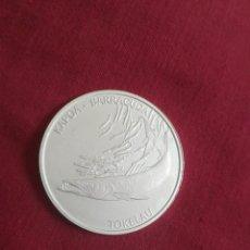 Monedas antiguas de Oceanía: 5 DOLLARS 2017 TOKELAU PLATA 999 31 GR. Lote 210838687