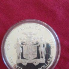 Monedas antiguas de Oceanía: 25 DOLLARS JAMAICA 1978 PLATA. Lote 211457645