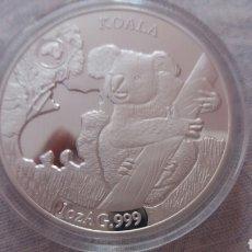 Monedas antiguas de Oceanía: PRECIOSA MONEDA ISLAS SALOMON 2019 KOALA 1 ONZA DE PLATA. Lote 211570492