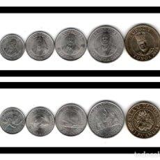 Monedas antiguas de Oceanía: TONGA SET 1 PA,ANGA, 50 SENITI, 20 SENITI, 10 SENITI, 5 SENITI 2015 S/C. Lote 211603512