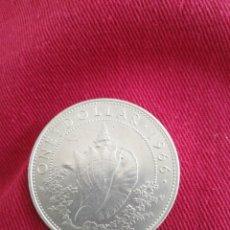 Monedas antiguas de Oceanía: ONE DOLLAR 1966 BAHAMAS PLATA. Lote 211782841