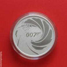 Monedas antiguas de Oceanía: TUVALU 1 DOLAR 2020 - ONZA PLATA - JAMES BOND 007. PRECIO POR UNIDAD, 2 UNIDADES DISPONIBLES.. Lote 211957878