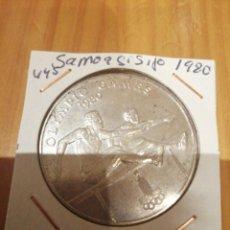 Monedas antiguas de Oceanía: MONEDA DE PLATA DE SAMOA DE 1980. Lote 212876148