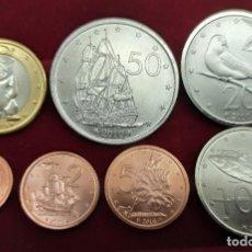Monedas antiguas de Oceanía: ISLAS COOK SET 7 MONEDAS 1 2 5 10 20 50 CENTS 1 DOLLAR 2010 SC UNC. Lote 294560068