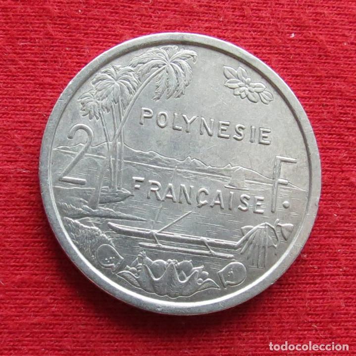 POLINESIA FRANCESA 2 FRANCOS 1979 POLYNESIE (Numismática - Extranjeras - Oceanía)