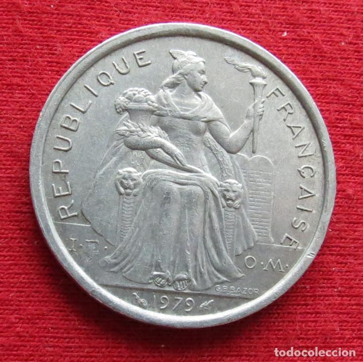 Monedas antiguas de Oceanía: Polinesia Francesa 2 francos 1979 Polynesie - Foto 2 - 213433040