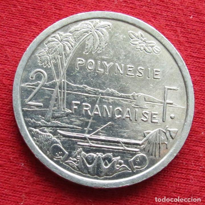 POLINESIA FRANCESA 2 FRANCOS 1989 POLYNESIE (Numismática - Extranjeras - Oceanía)