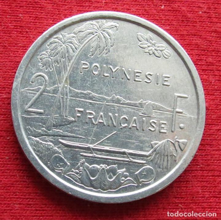 POLINESIA FRANCESA 2 FRANCOS 1997 POLYNESIE (Numismática - Extranjeras - Oceanía)
