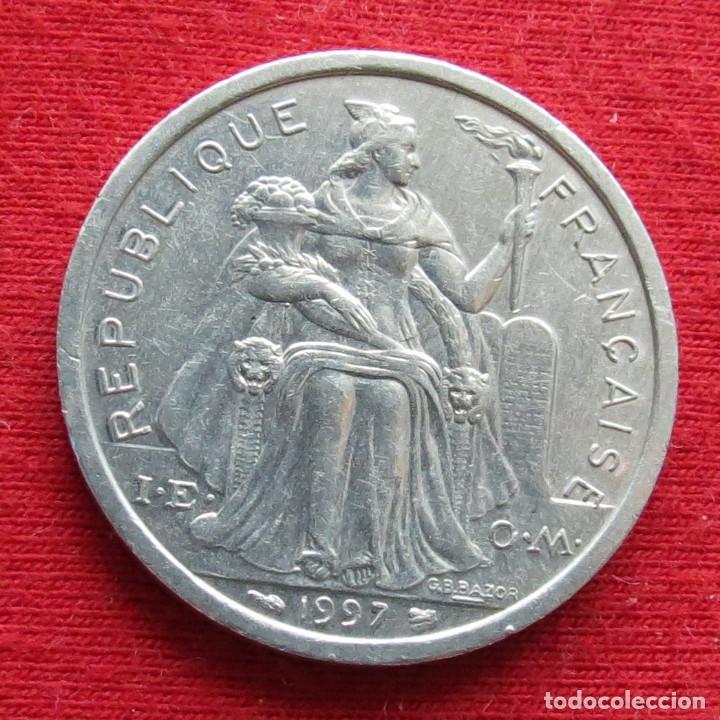 Monedas antiguas de Oceanía: Polinesia Francesa 2 francos 1997 Polynesie - Foto 2 - 213433152
