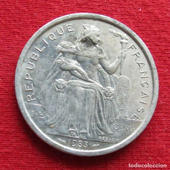 Monedas antiguas de Oceanía: Polinesia Francesa 2 francos 1983 Polynesie - Foto 2 - 213433173