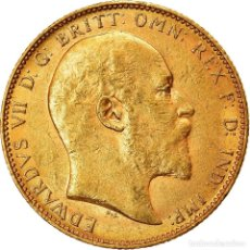 Monedas antiguas de Oceanía: MONEDA, AUSTRALIA, EDWARD VII, SOVEREIGN, 1904, PERTH, MBC+, ORO, KM:15. Lote 214369707