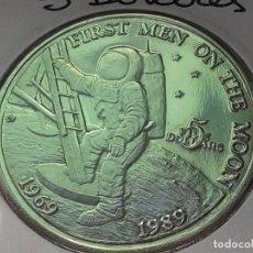 Monedas antiguas de Oceanía: ISLAS MARSHALL 5 DOLARES 1989 (SIN CIRCULAR). Lote 215842990