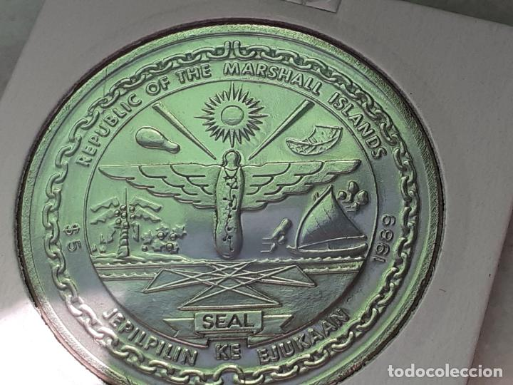 Monedas antiguas de Oceanía: ISLAS MARSHALL 5 DOLARES 1990 (SIN CIRCULAR) - Foto 2 - 215843261
