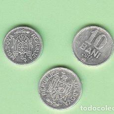 Monedas antiguas de Oceanía: MOLDAVIA. 3 MONEDAS DE 5,10 Y 25 BANI. Lote 215952618