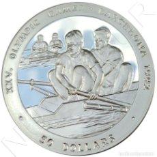 Monedas antiguas de Oceanía: NIUE ISLANDS 50 DOLLARS 1989 XXV OLIMPIC GAMES BARCELONA 1992 | SILVER KM #27. Lote 216134278