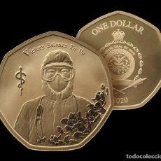 Monedas antiguas de Oceanía: COVID-19 MONEDA DE LUCHA EPIDEMICA- 1 DOLAR ORIGINAL DE NIUE 2020 -LA VICTORIA NOS PERTENECE-. Lote 251606040