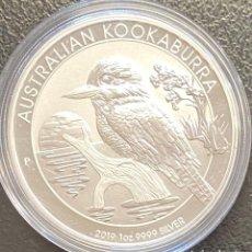 Monedas antiguas de Oceanía: AUSTRALIA, MONEDA DE 1 ONZA DE PLATA. Lote 217205422