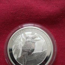 Monedas antiguas de Oceanía: 1 DOLLARS AUSTRALIA 2014 KOOKABURRA PLATA 999 31 GR. Lote 217586951