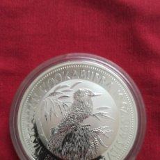 Monedas antiguas de Oceanía: 10 DOLLARS AUSTRALIA 1992 KOOKABURRA PLATA 999 10 OZ. Lote 217588842