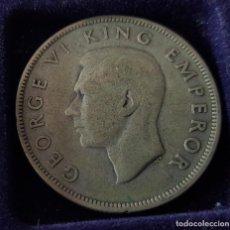 Monedas antiguas de Oceanía: HALF CROWN NUEVA ZELANDA 1942 PLATA. Lote 218114375