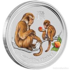"""Monedas antiguas de Oceanía: AUSTRALIA LUNAR II 5 OZ 2016 AÑO DEL MONO """"MUY RARA"""". Lote 218287643"""