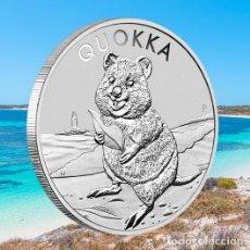 Monedas antiguas de Oceanía: AUSTRALIA 2020 QUOKKA, CINCO (5) MONEDAS PLATA PROOF NOVEDAD. Lote 218296947