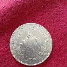 Monedas antiguas de Oceanía: ONE DOLLAR BAJAMAS 1966 PLATA. Lote 218602265