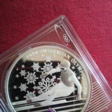 Monedas antiguas de Oceanía: 1 DOLLARS AUSTRALIA 2010 OLIMPIC TEAM PLATA 999. Lote 218623721