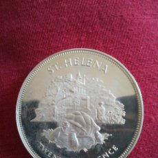 Monedas antiguas de Oceanía: 25 PENCE ST. HELENA 1977 PLATA TORTUGA. Lote 218624191