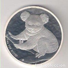 Monedas antiguas de Oceanía: MONEDA DE 1 DÓLAR (ONZA PANDA) DE AUSTRALIA DE 2009. PLATA. PROOF (ME50). Lote 218673620