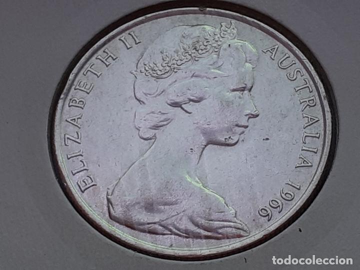 Monedas antiguas de Oceanía: AUSTRALIA 50 CENTAVOS/CENTS/CENTIMOS 1966 (SIN CIRCULAR) - Foto 2 - 218682825