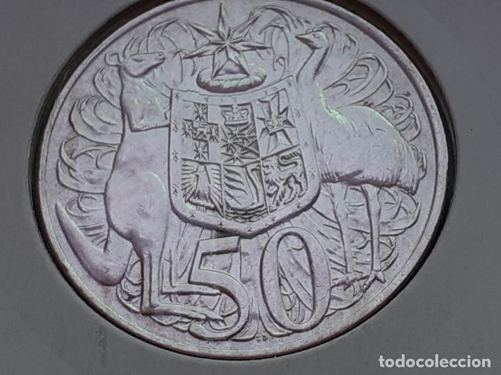 AUSTRALIA 50 CENTAVOS/CENTS/CENTIMOS 1966 (SIN CIRCULAR) (Numismática - Extranjeras - Oceanía)