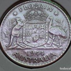 Monedas antiguas de Oceanía: AUSTRALIA 2 CHELINES O FLORIN 1944. Lote 218684441